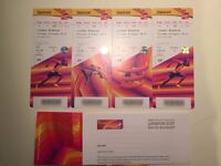 IAAF World Championships (London 2017) 200m Final, Usain Bolt (2 x Adults & 2 x Child tickets)