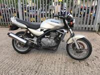 Motorcycle Kawasaki ER5 seat