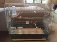 Bird cage (Irene 4) for budgies, canaries etc
