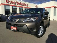 2013 Toyota RAV4 AWD LE -  LOW KMS / ONE OWNER
