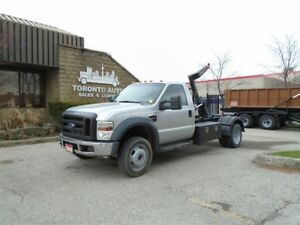 2008 Ford F-550 Hook lift,Tool boxes,Automatic,G licence.