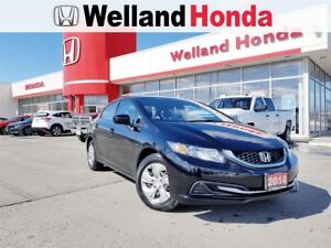 2014 Honda Civic LX| LEASE RETURN| ACCIDENT FREE| BLUETOOTH
