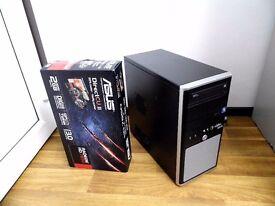 High Spec Gaming Computer PC (Intel i7 2600, 6GB RAM, ASUS HD 7850 2GB Graphics)