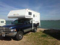 Sun valley camper with Dodge ram 4x4 diesel 12 valve cummins