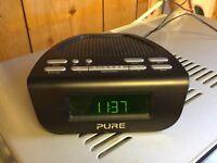 Pure Dab Radio Alarm Clock