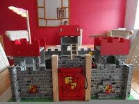 Wooden Medieval Camelot Castle by Le Toy Van.