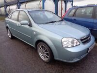 CHEVROLET LACETTI 1.8 2006/56, LONG MOT+HISTORY, GOOD CONDITION, DRIVES SUPERBLY, TRADE IN TO CLEAR