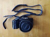 Minolta 7000 AF Film camera + 2 lenses + camera bag+ extras (Sony Aplha compatible)