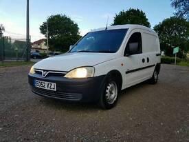 Vauxhall Combo 1.7 diesel van one former keeper in good running order with MOT