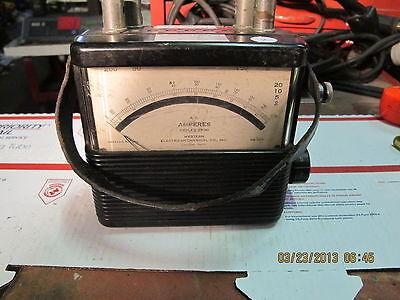 Vintage Weston 582 Portable Ammeter Bakelite C