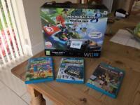 Wii U 32gb Mario Kart 8 Premium Pack (black)