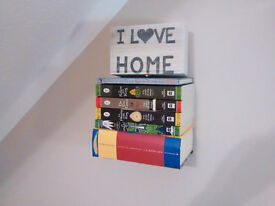 20 available Creative Conceal Invisible Art Bookshelf Floaring JDIT Book Shelfs