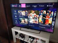 Sony Bravia 43'' smart TV - mint condition & in Warranty