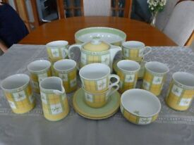 M&S 22 pce tea set. Excellant condition. Rarely used.