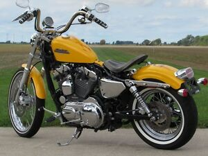 2013 harley-davidson XL1200V Seventy-Two   Chrome Yellow Pearl & London Ontario image 2