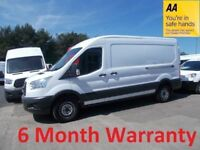 Ford Transit 350 RWD 2.2 TDCi 125 LWB M/Roof***Stunning Looking Van***12 Month MOT**Lease Co Direct*