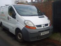 RENAULT TRAFIC SL27 DCI 2002 BREAKING ALL PARTS