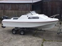 Shetland 535 Suntrip - Fully Restored with 60hp Outboard