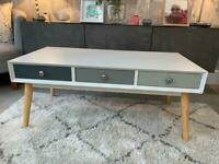 Orla 6 drawer coffee table