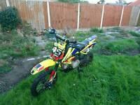 STOMP 110cc Pit Bike, Crosser, Off Road, motorbike