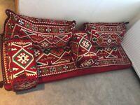 Arabic turkish floor seats x2