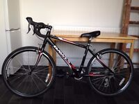 Dawes Espoir Lightweight Racing Road Cyclocross Bike for Kid or Lady with a helmet (Almost New)