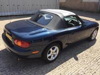 Mazda mx5 fsh 12 months mot 55k pristine example first to see will buy