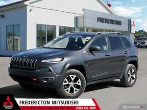 2014 Jeep Cherokee Trailhawk 4X4 | REDUCED | HEATED LEATHER |...