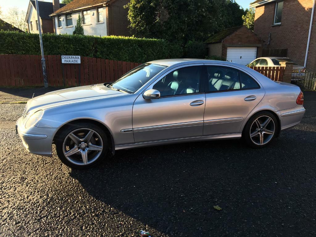 """2003 MERCEDES E320 AVANTGARDE CDI AUTOMATIC """"JUST PASSED MOT """" FULL LEATHER TRADE IN WELCOME £2250"""