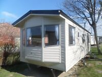 6 Berth Willerby Solara Gold caravan on Newquay View Resort