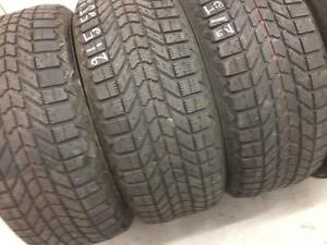 4 Firestone winter tires:215/55R16