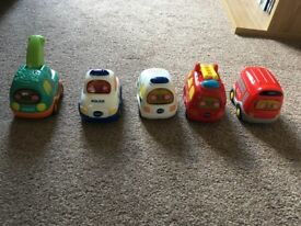Toot Toot Drivers 5 Cars/Vehicles