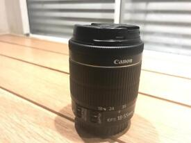 Canon ef-s 18 - 55mm f/3.5 - 5.6 IS STM zoom lens