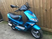 Peugeot Speedfight 100cc 7000miles scooter moped 12 months mot
