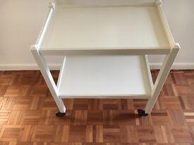 Tea trolley two shelves 61x38x68cm