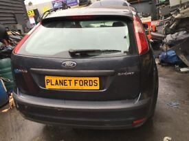 FORD FOCUS 2004 2005 2006 2007 2008 1.6 BREAKING FOR PARTS SEA GREY