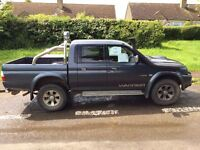 Mitsubishi L200 2.5 TD. 65k miles, new snorkle, spotlights and rollbar. Excellent condition.