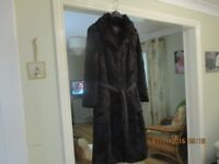 Fur coat size 12