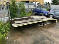 Recovery Truck Bed Recovery Van Flat Bed