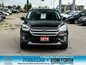 2018 Ford Escape Titanium Leather Rear Cam Sunroof Heated Seats