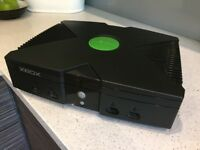 Original Xbox 320gb Hard drive Coinops 8 Massive setup with leads and controller