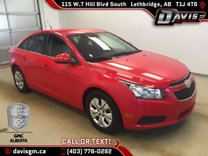 Used 2014 Chevrolet Cruze 1LT-Bluetooth, Remote Start Certified
