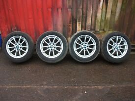 BMW E87 1 SERIES WHEELS WITH TYRES