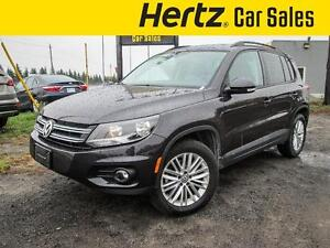 2016 Volkswagen Tiguan SE 4MOTION AWD, AUTOMATIC