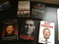 Manchester United book collection