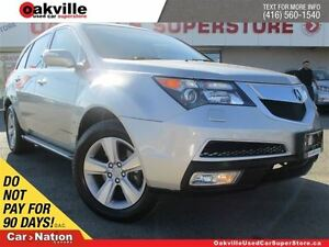 2011 Acura MDX TECH PACKAGE | AWD | NAVIGATION | DVD