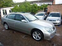 2001 LEXUS GS300 3.0SE DRIVES LIKE NEW, ONLY 90,000 MILES FROM BRAND NEW, LOVELY CONDITION