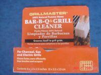 Bar=B-Q & Grill Cleaner. 100% Natural Pumice Stone