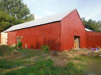 BARN PAINTING & REPAIRS &  STEEL ROOFING