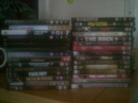 DVD COLLECTION 30 GOOD MOVIES £15
